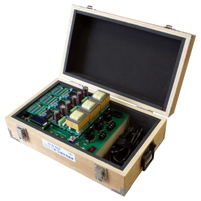AC100Vからつくる1・2・3相交流電源