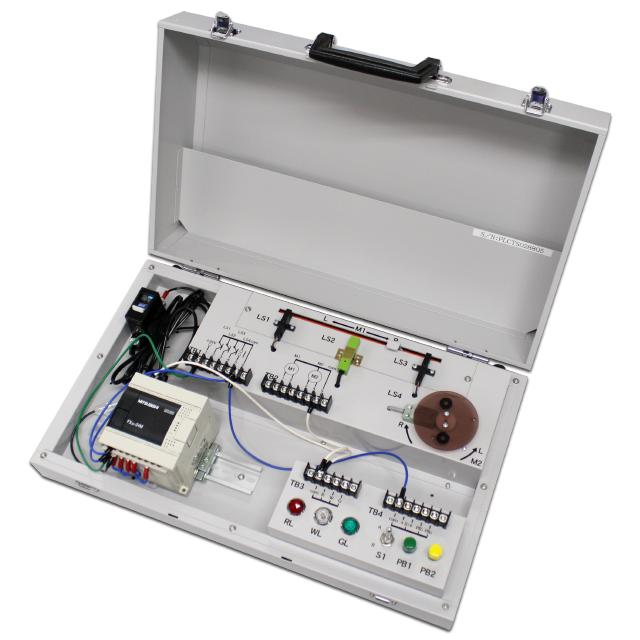 PLC制御教材:PLCトレーニングシステム