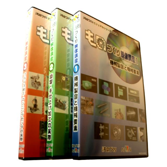 ものづくり映像講座CD(全3巻セット)