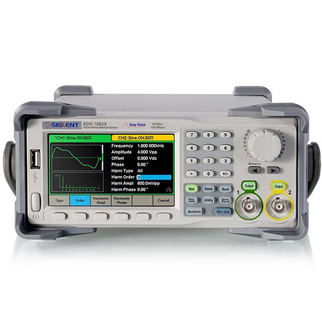 SIGLENT 任意信号/ファンクションジェネレータ SDG1062X
