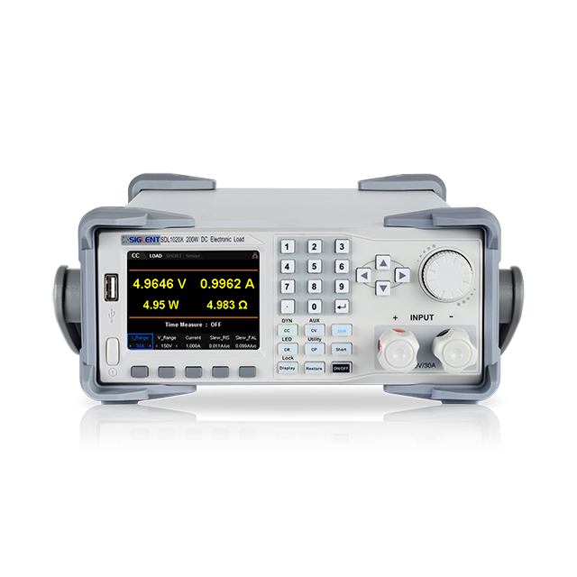 SIGLENT SDL1020X-E プログラマブル DC 電子負荷装置