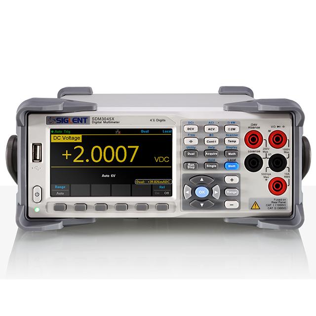 SIGLENT SDM3045X 4.5桁 デュアルディスプレイ デジタルマルチメータ