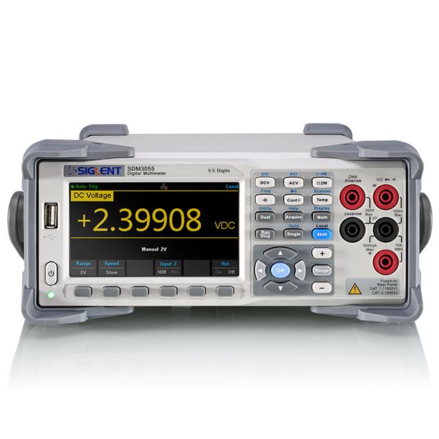 SIGLENT SDM3055 5.5桁 デュアルディスプレイ デジタルマルチメータ