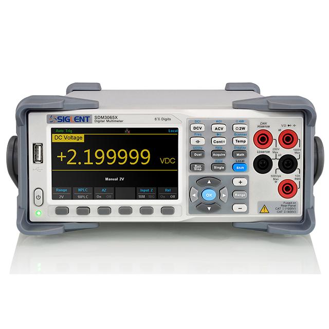 SIGLENT SDM3065X-SC 6.5桁 デュアルディスプレイ デジタルマルチメータ