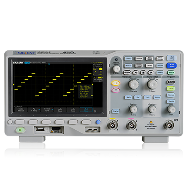 SIGLENT SDS2352X-E 2ch 350MHz 2GSa/s オシロスコープ
