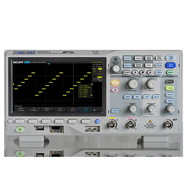 SIGLENT SDS2202X-E 2ch 200MHz 2GSa/s オシロスコープ