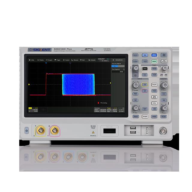 SIGLENT SDS2102X+ 2ch 100MHz 2GSa/s オシロスコープ