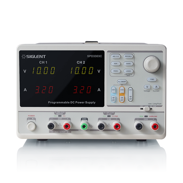 SIGLENT プログラマブルDC電源 SPD3303C