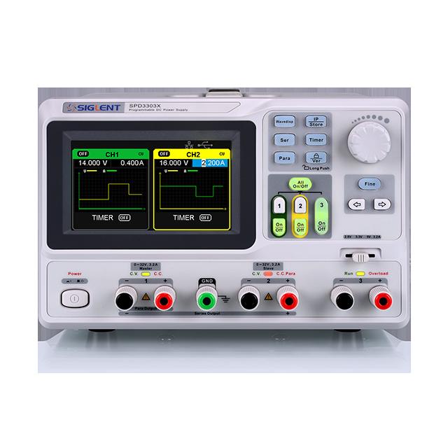 SIGLENT SPD3303X  3CH プログラマブルリニアDC電源
