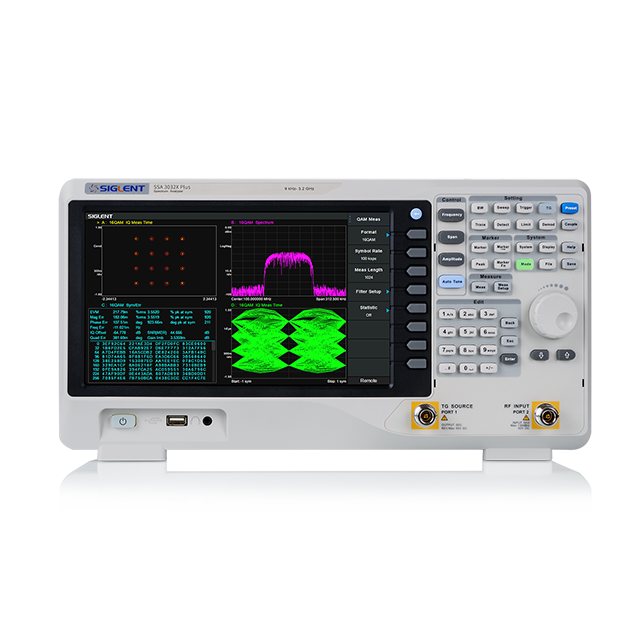 SIGLENT SSA3015X+ 1.5GHz スペクトラムアナライザ