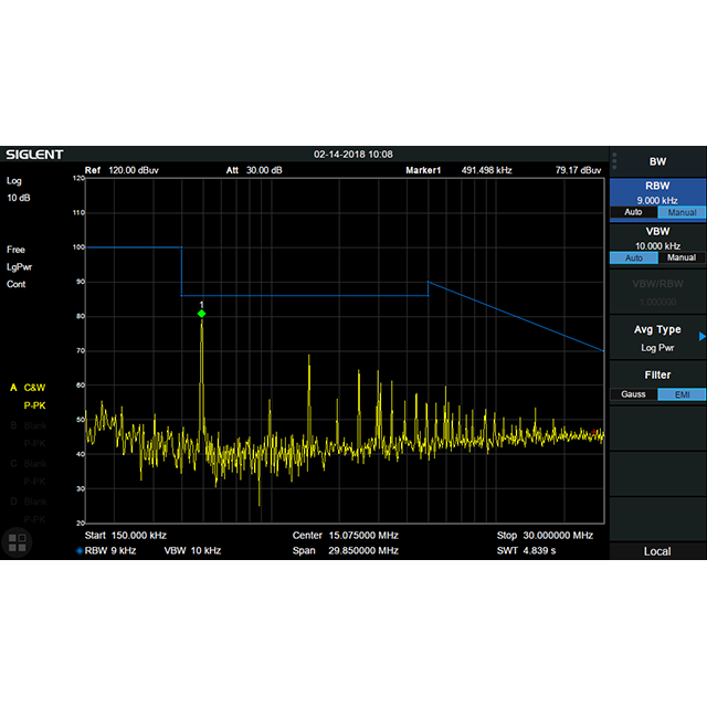 SSA3000X-R シリーズ オプション EMI測定キット