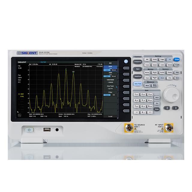 SIGLENT SVA1015X 1.5GHz スペクトラム/ベクトルネットワークアナライザ